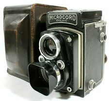 MPP Microcord TLR Film Camera 77.5mm f/3.5 Xpres Lens Case Hood UK Fast Post