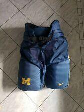 New Michigan Nike Bauer supreme pro stock hockey pants, Medium, tanks