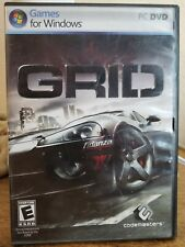 GRID (PC DVD, 2008) COMPLETE Disc / Instruction Booklet / Original Box