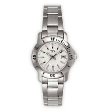 TFX by Bulova Collection 36M101 Stainless Steel  Silver Tone Women's Watch