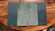 HERMÈS Couverture, Porte Agenda CUIR,  27 x 22 cms, cover,