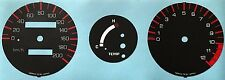 YAMAHA RD350F2 RD350N1 N2 SPEEDOMETER AND TACHOMETER FACE RESTORATION DECALS KPH