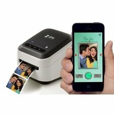 """New ZINK hAppy Smart App Wireless Inkless Printer With 1/2"""" zRoll IPhone Paper"""