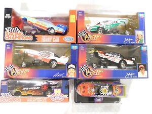 (LOT OF 6) Racing Champions/Winners Circle NHRA Funny Cars 1:24 NIBJohn Force