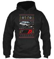 Initial D Ugly Sweater - Gildan Hoodie Sweatshirt