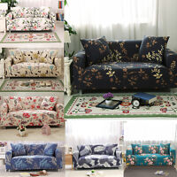 Stretch Sofa Slipcover Lounge Settee Couch Protector Cover Fit 1 2 3 4 Seater