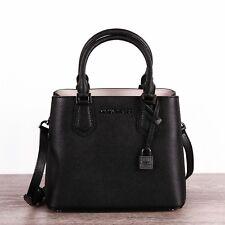 Michael Kors Tasche/bag Adele MD Messenger Leather Leder Black