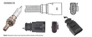 NGK NTK Oxygen Lambda Sensor OZA629-V9 fits Audi A3 1.4 TFSI (8PA) 92kw