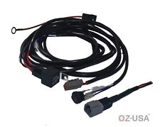 Heavy duty HD ATP harness plug wiring kit for LED HID lights bars offroad 4x4