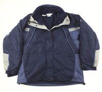 Columbia Full Zip Jacket Coat Women's Large 2 in 1 Interchange Outdoors