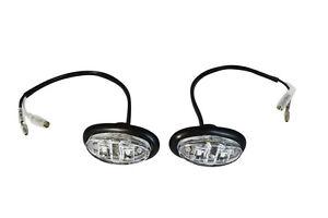 Blinker Marker Lichter Für Harley Road Glide Davidson Tourer Baggers Paar LED
