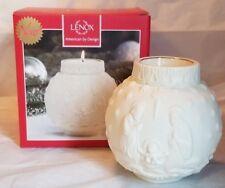 "Lenox Ornamental Glow Nativity Votive Candle Holder 4"" New"