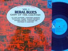 Rural Blues Vol.1 ORIG UK LP Liberty '69 Lightnin Hopkins Lil' son Jackson