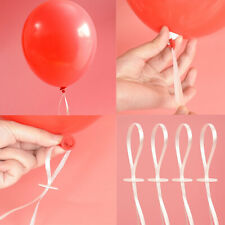 50pcs Balloon Clip Ties And Balloon Ribbon For Balloons For Birthday Party