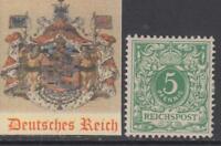 GERMANY - 1889 - Mi 46a  cv 240$  MH*