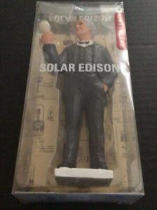 Kikkerland Solar Edison,Solar Power Light Up Figure
