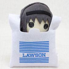 Puella Magi Madoka Magica Homura in Lawson Bag Mini Plush Doll JAPAN ANIME
