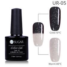 UR SUGAR UV Gel Nail Polish Thermal Color Changing Glitter Soak Off Nail Art