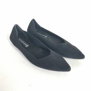 Steven By Steve Madden Womens Rosy Ballet Flat Shoes Black Slip On 7 M