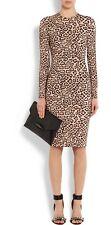 Givenchy Pink Leopard  Print Dress F40 UK 12