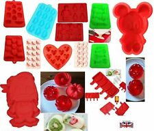 Cake, Jelly, Candy Moulds, Ice Lolly, Ice Cube Tray, Silicone - Different Shapes