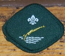 Scout  – Swimmer Proficiency badge – 1980's - Green