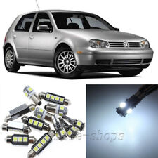 Error Free White 12pcs Interior LED Light Kit for 99-05 VW MK4 Golf GTI Jetta