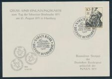 Briefmarken aus der BRD (1970-1979) mit Sonderstempel als Einzelmarke