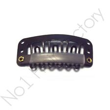 Salon Grade High quality Hair Extension Snap Clips for Wig Weft 32mm / 3.2cm