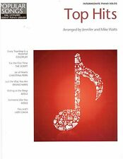 Top Hits Piano Sheet Music with Lyrics Bruno Mars, Adele, The Script, Coldplay !