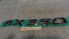 """07-10 OEM NEW LEXUS """"RX350"""" EMBLEM REAR TRUNK LIFTGATE CHROME 08 09 10"""