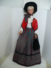 PATTERN FOR 38 INCH MY SIZE BARBIE VICTORIAN CHRISTMAS  OUTFIT