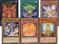 Yugioh Hieratic Dragon Deck 40 Cards Includes Heliopolis Alexandrite Honest