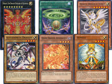 Yugioh Hieratic Dragon Deck 40 Cards Includes Heliopolis Alexandrite Honest