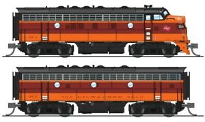BROADWAY LIMITED 4845 HO F7 A/B MILWUKEE 68A/68B A UNIT Paragon3 Sound/DC/DCC