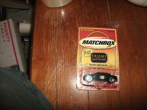 MATCHBOX 2002 MATTEL DONALD TRUMP LIMOUSINE TRUMP COLLECTOR SERIES in case new