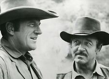 "JAMES ARNESS JOHN PAYNE ""GUNSMOKE"" (POLICE DES PLAINES) PHOTO SERIE TV CM"