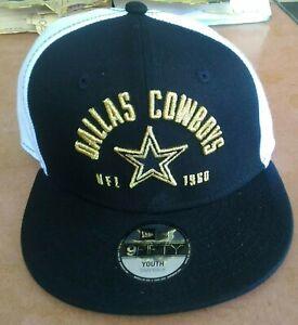 Dallas Cowboys New Era 9FIFTY Youth Snapback Cap 6 Panel Adjustable 1960