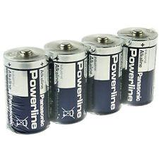 4 Stück Mono-D * PANASONIC * Industrial Powerline LR20 - 1,5 Volt