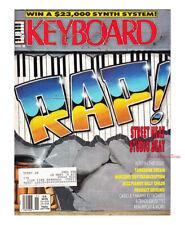 Keyboard Magazine1988 Rap Tangerine Dream Billy Childs Nicolas Slonimsky VG