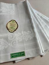 More details for 6 vintage unused irish linen damask dinner napkins 22