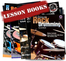 Drum Instruction Ultimate Drumming Collection by Jim McCall 6 books and Dvd