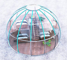 9 mt -30 ft / 2 story -Clear Polycarbonate Dome House -Transparent Tent Glamping