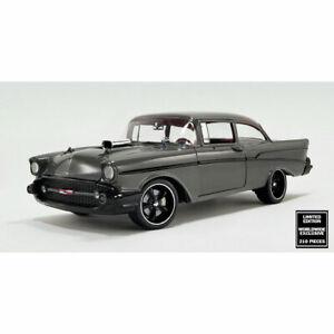 1:18 DDA - 1957 Custom Chevrolet Bel Air - Grey