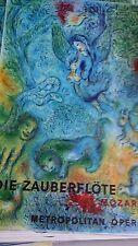 The Magic Flute Die Zauberflote 1966 Exhibition Poster, Marc Chagall