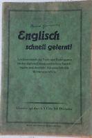 Englisch schnell gelernt! Genehmigt durch Cdn Inf Division B9977