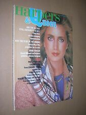 HARPERS & QUEEN MAGAZINE. JANUARY 1978. FASHION. STYLE. DESIGN.