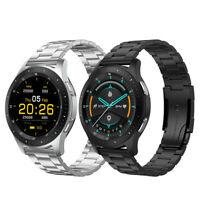 Smartwatch Bluetooth Uhr Telefonie HD RETINA Display 316L Edelstahl Android iOS