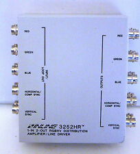 Inline 3252HR 1-In 2-Out RGBHV Distribution Amplifier Line Driver