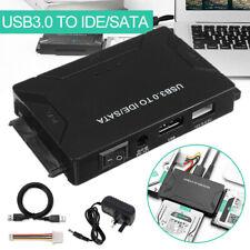 "USB 3.0 to 2.5'' 3.5"" IDE SATA Converter External Hard Drive Adapter Cable Kits"